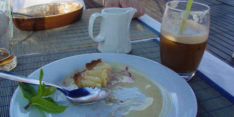 Cafe Frappe Pear Tarte