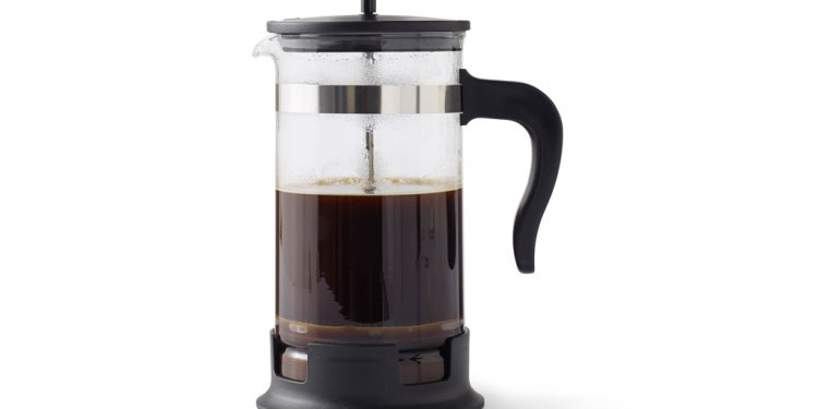 And glass coffee maker