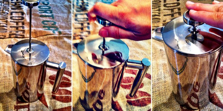 French Press Coffee Image