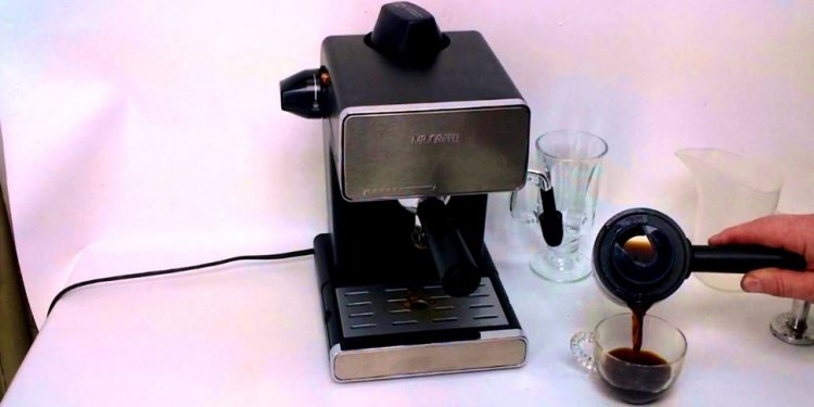 Mr Coffee Steam Espresso