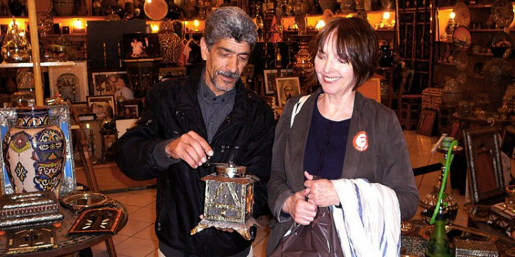 Looking at traditional coffee grinder