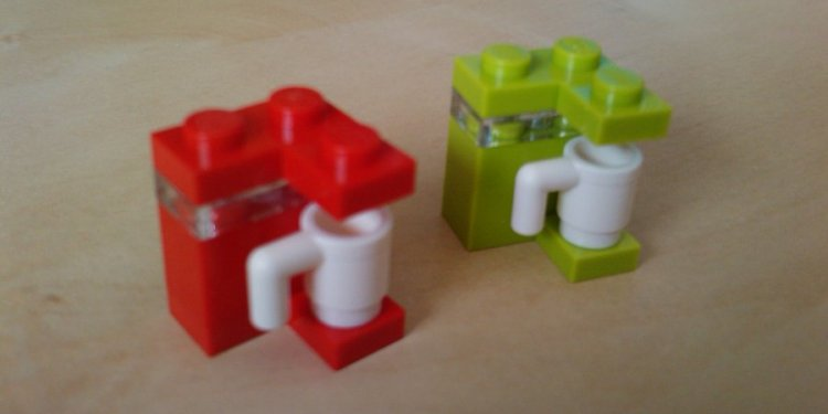 Simple Lego coffee machine