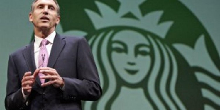 Starbucks CEO: Lesson in
