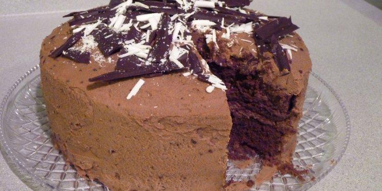 Coffee-Chocolate Cake 3