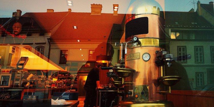 Vintage Italian espresso machine