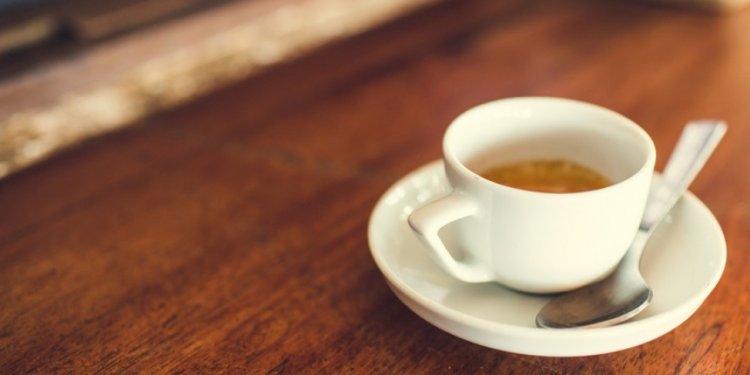 Of freshly brewed) coffee!