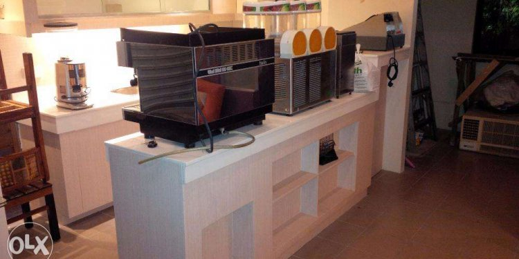 Used coffee shop equipment