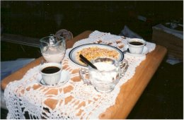Eritrea coffee ceremony