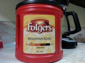 folgers immediate coffee analysis