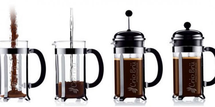 Directions for French Press coffee
