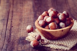 Hazelnuts are normally sweet and full of vitamins.