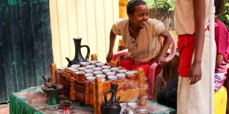 Ethiopian Coffee Traditional
