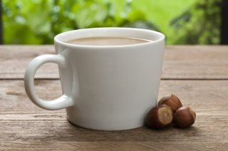 Making a hazelnut coffee is worth the extra work.