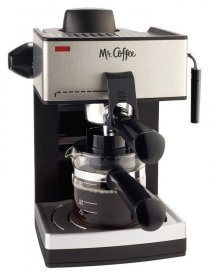 Mr. Coffee ECM160 4-Cup Steam Espresso device, espresso machine