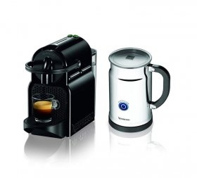 Nespresso Inissia Espresso Maker with Aeroccino Plus dairy Frother, espresso device