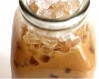 How to make iced coffee fast?