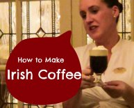 How to make Irish coffee with Baileys?