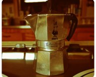 Italian coffee makers Stovetop Top