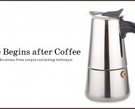 Italian coffee Percolator Stovetop