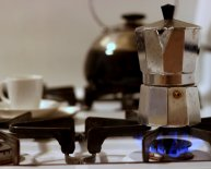 Italian coffee Pots Stovetop Top