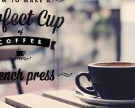 Perfect cup of coffee French Press