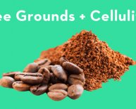 Used coffee grounds for cellulite